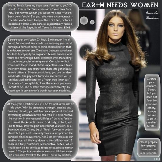 Earth Needs Women