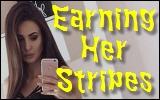 earning her stripes