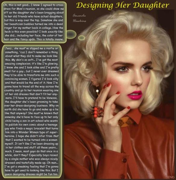 Designing Her Daughter Amanda S Reading Room