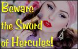 beware the sword of hercules